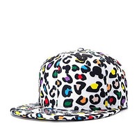 Home Prefer Men's Premium Leopard Outdoor Fashion Snapback Cap Flat Bill Hip Hop Cap