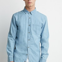 Longline Denim Shirt