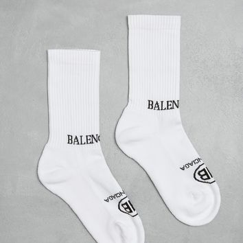 Totokaelo Tennis Tight Socks - Balenciaga - Designers - Womens