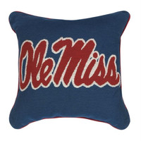 Throw Pillow - University Of Mississippi Ole Miss
