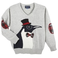 Christmas Penguin Sweater