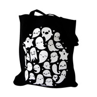 GHOST Tote Bag - Kawaii Ghosts Totebag Purse