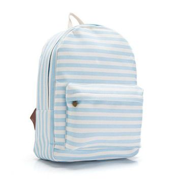 LMFUG3 Canvas Lovely Cute Korean Butterfly Backpack = 4887931652