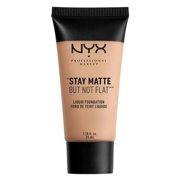 NYX Stay Matte But Not Flat Liquid Foundation - Medium - #SMF18