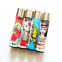 Day-First™ Combo 4 pack of Clipper Lighters.