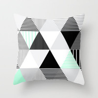 Drieh Throw Pillow by Paola Fischer | Society6