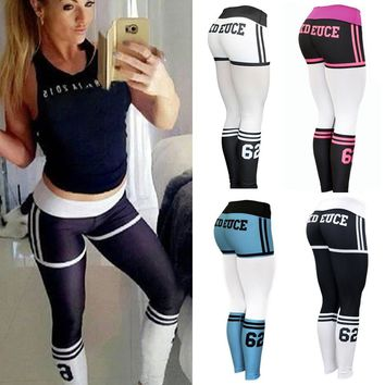 High Waist Yoga Fitness Leggings Running Gym Stretch Sports Pants