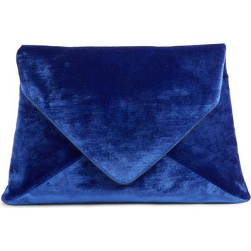 Dries Van Noten Velvet Envelope Clutch | Nordstrom