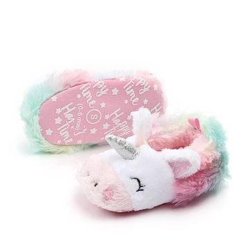 Toddler Baby Flowers Unicorn Shoes
