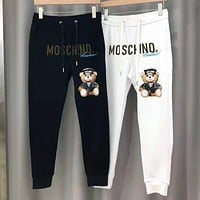 MOSCHINO Popular Women Men Leisure Print Sport Pants Trousers Sweatpants