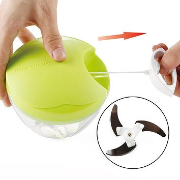 Multifunction Pull-cord Vegetable Chopper Hand Speedy Food Chopped Shredders Fruit Cutter Slicer Kitchen Gadgets Accessories