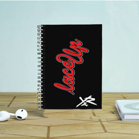 Mgk Machine Gun Kelly Lace Up Young And Reckless 2 Photo Notebook Auroid