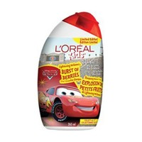 Buy L'Oreal Paris Kids Cars2 2-In-1 Shampoo (Limited Edition) Lightening McQueen's Burst Of Berries 265 mL Online in Canada | Free Shipping