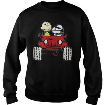 They Are Snoopy And Charlie Brown Sweatshirt Unisex