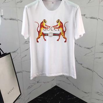 New Authentic gucci 2018ss tiger t shirt  28