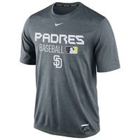 Nike San Diego Padres Authentic Collection Team Issue Dri-FIT Performance Tee
