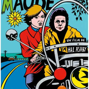 Harold and Maude French Movie Poster 11x17