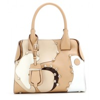 Cape Small embellished leather tote