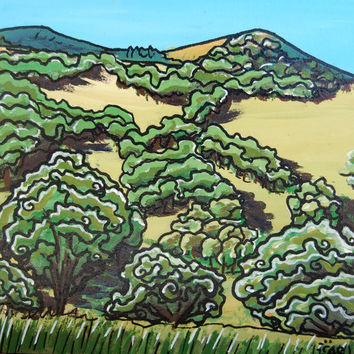 California Oak Hills Painting