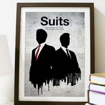 Suits  Poster A3