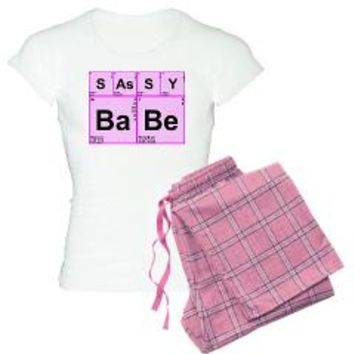 Periodic Table Words Pajamas> SAsSY BaBe> Periodic Nerds