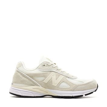 NEW BALANCE X STUSSY 990 MADE IN USA CREAM WHITE M990SC4