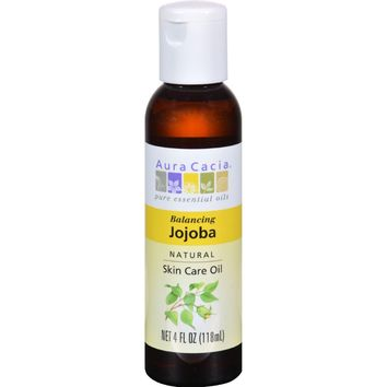 Aura Cacia Natural Skin Care Oil Jojoba - 4 fl oz