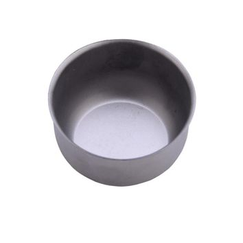 Titanium Water Mug Cup Outdoor Camping Pot Cooking Picnic Round Cup Applicable Handiness Titanium Cup