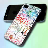 The Beatles Galaxy Nebula  by GreatCover Print Design for iPhone 4/4s iPhone 5 Samsung S3 i9300 Samsung S4 i9500