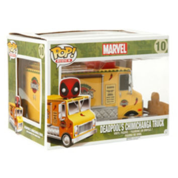 Funko Marvel Pop! Rides Chimichanga Truck With Deadpool Bobble-Head Vinyl Vehicle