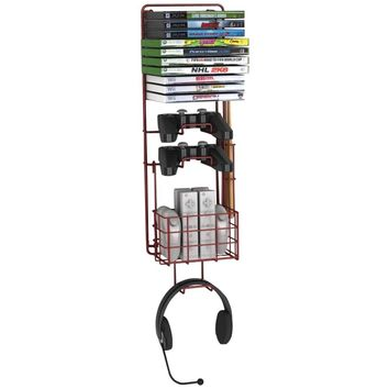 Atlantic Wall-mount Game Rack