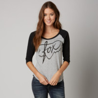 Fox Turning Baseball Tee