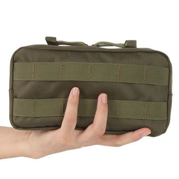 Outdoors 600D Traveling Gear Molle Pouch Military Bag Tactical Airsoft Vest Sundries Camera Magazine Storage Bag