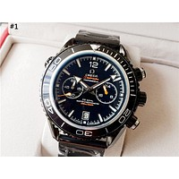 OMEGA 2019 new high-end versatile automatic mechanical watch #1