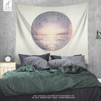Wanderlust Art Wall Tapestry | Wanderlust Tapestry | Adventure Tapestries | Nature Wall Tapestries | Boho Tapestry | 3 Sizes | Unique Gifts