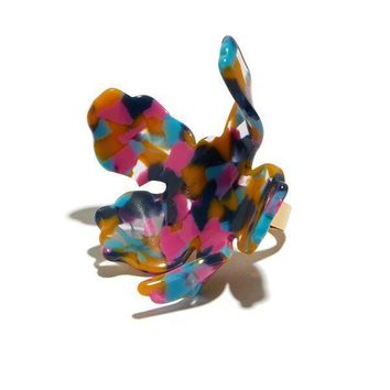 PAPER LILY RING