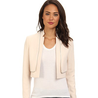 Rebecca Taylor Double Layer Jacket Ecru - Zappos.com Free Shipping BOTH Ways