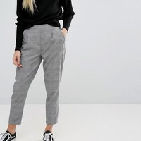 New Look Pow Check Pull On Pants at asos.com