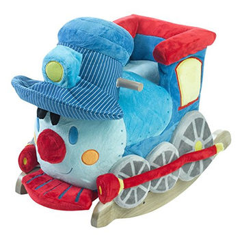 Ride On Toys Trax the Train Rocker, One Size