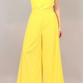 Lemon Wide Leg Pants