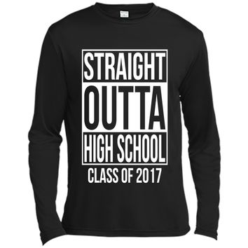 Straight Outta High School Class of 2017 Graduation T-Shirt