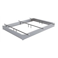 Full size Hotel Style Metal Bed Base Hospitality Bed Frame