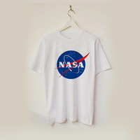 nasa logo T-shirt unisex adults USA