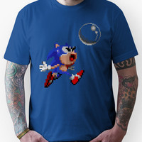 "I Want To Breathe!"" Sonic The Hedgehog  Unisex T-Shirt"
