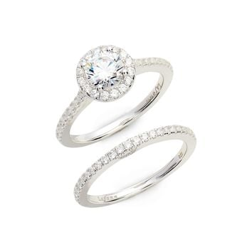 Lafonn Joined at the Heart Halo Ring   Nordstrom