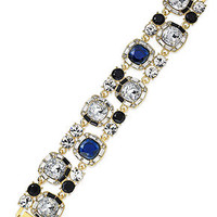 kate spade new york Gold-Tone Epoxy Stone Sparkle Bracelet