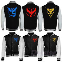 Team Instinct Mystic Valor Jacket - Pokemon Go Fan Inspired Gift Fashion Present [9325958916]