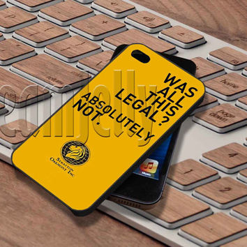 The Wolf of Wall Street Cover - iPhone 5/5S/5C/4/4S, Samsung Galaxy S3/S4/S5