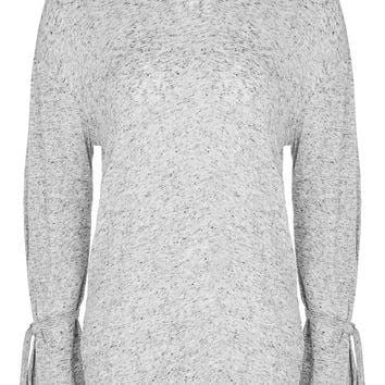 Long Sleeve Sloppy T-Shirt | Topshop