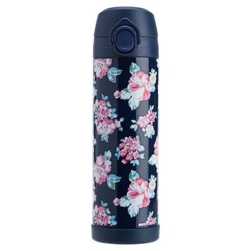 Northfield Bloom Burst 17 oz Water Bottle, Navy